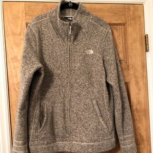 North Face Crescent Sweater Fleece Jacket